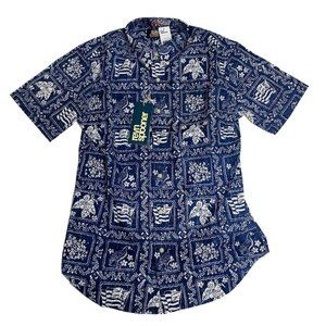 Reyn Spooner Mens Hawaiian Shirt Size Small S New